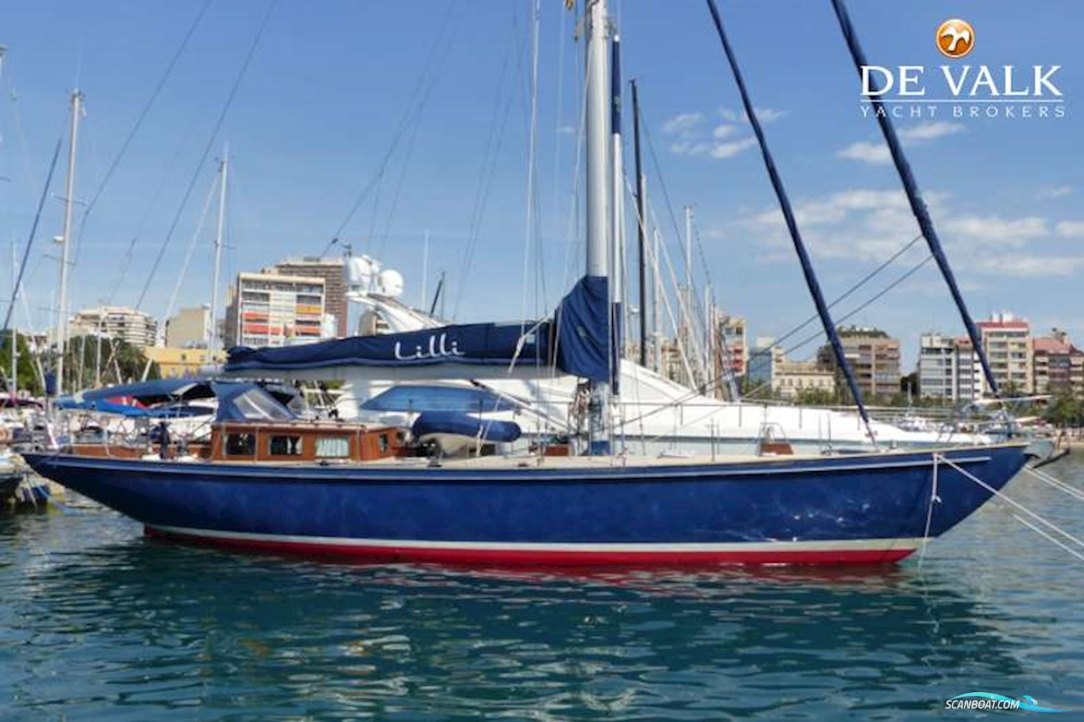 one-off Sailing Yacht