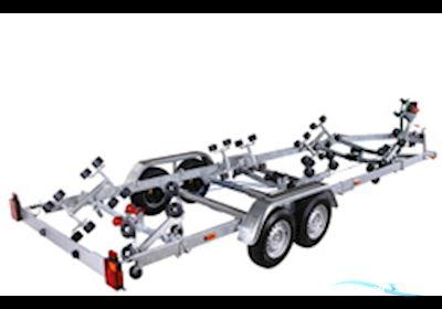 Bådtrailer 3502 BB - 2 Akslet Med Superruller