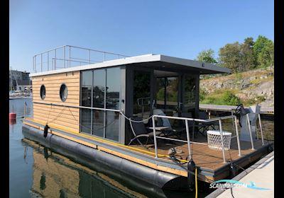 Huizen aan water La Mare Apartboat L Mit Dachterrasse