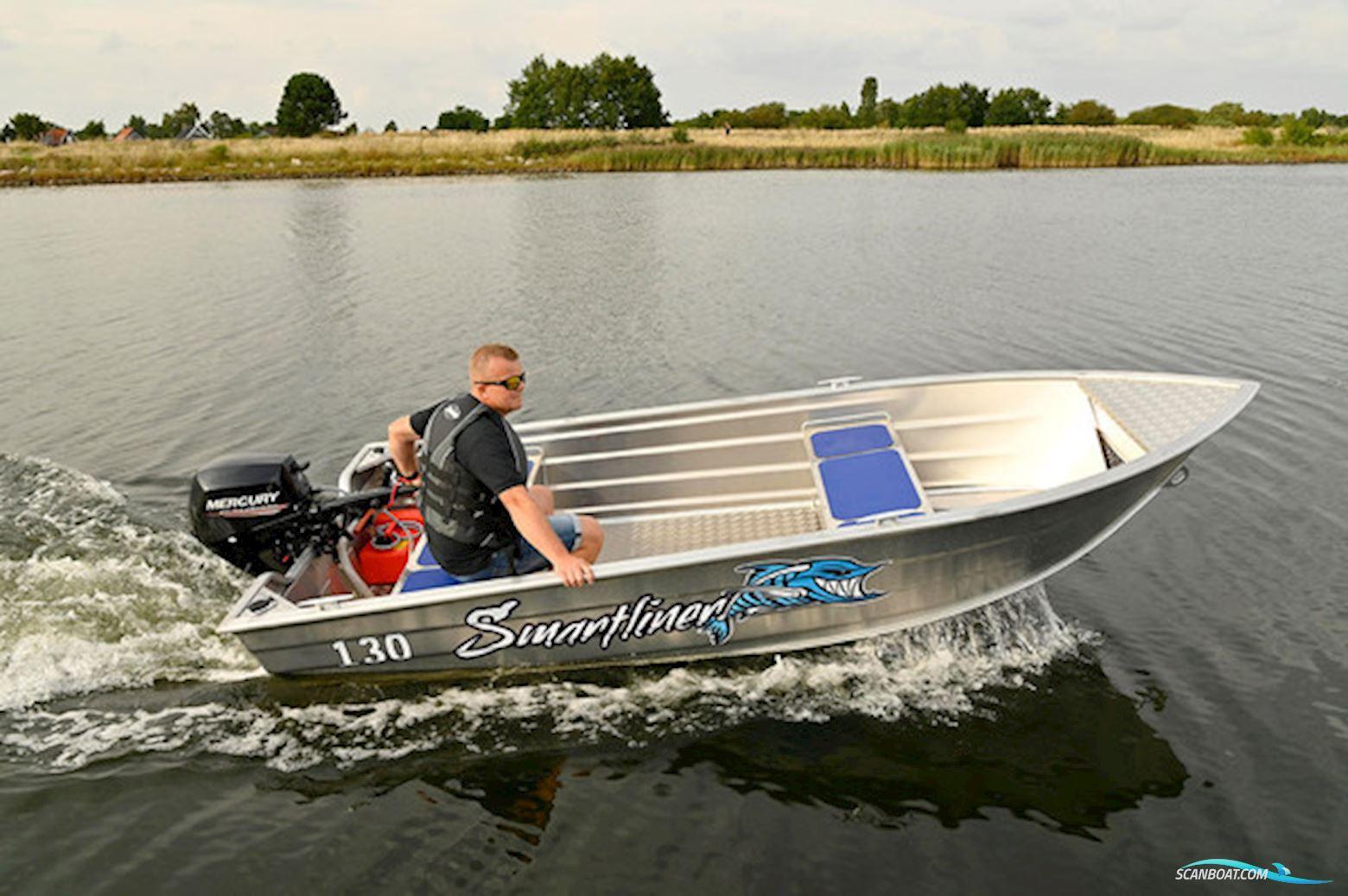 Smartliner 130 Alujolle Meget Robust Model Perfekt Til Fiskeri og Jagt
