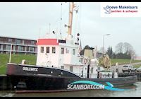 Live a board / River boat Ex German Buoyvessel 29.57 With Triwv