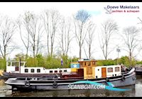 Live a board / River boat Tugboat Marlene with TRIWV