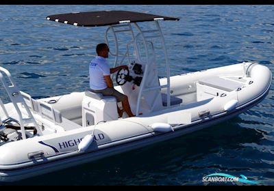 Motor boat Highfield Patrol 600