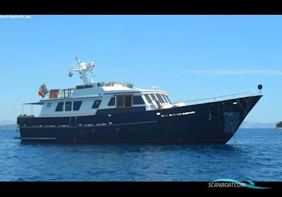 Motor boat Leeraner 21,60 - STAHLJACHT - 1993