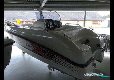 Motor boat Micore X 48 Med Mercury F60 Efi Elpt - Garmin Navigation/Ekkolod