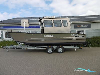Motor boat MS CWA690WT Big Cabin