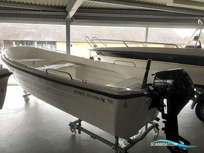 Motor boat Nordic 470  familie jolle