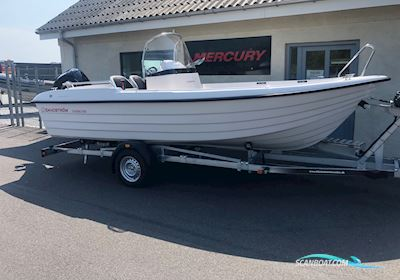 Motor boat Sandström Classic 565 Styrepult