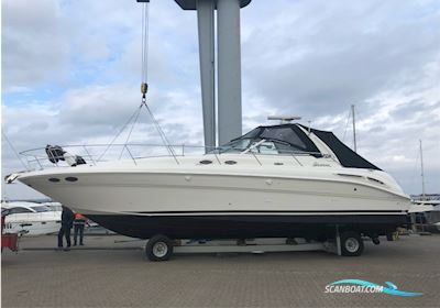 Motor boat Sea Ray 410 Sundancer - Top Stand / A1 Condition - Sunseeker / Princess / Fairline