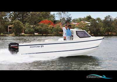 Motor boat Smartliner Cuddy 21