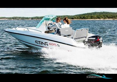 Motor boat Sting 485 S