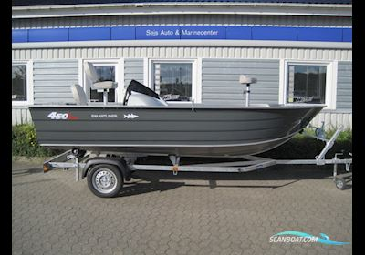 Motorbåd Smartliner aluminium 450 BASS
