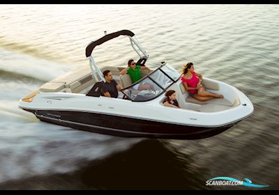 Motorbåt Bayliner VR5 med MerCruiser 4.5L MPI200hk benzin, katalysator, Alpha One