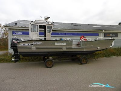 Motorbåt MS CWA800WT beam 2,55 (cabin version 5)