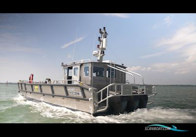 Motorboten MS Sea Truck 12 XL Version