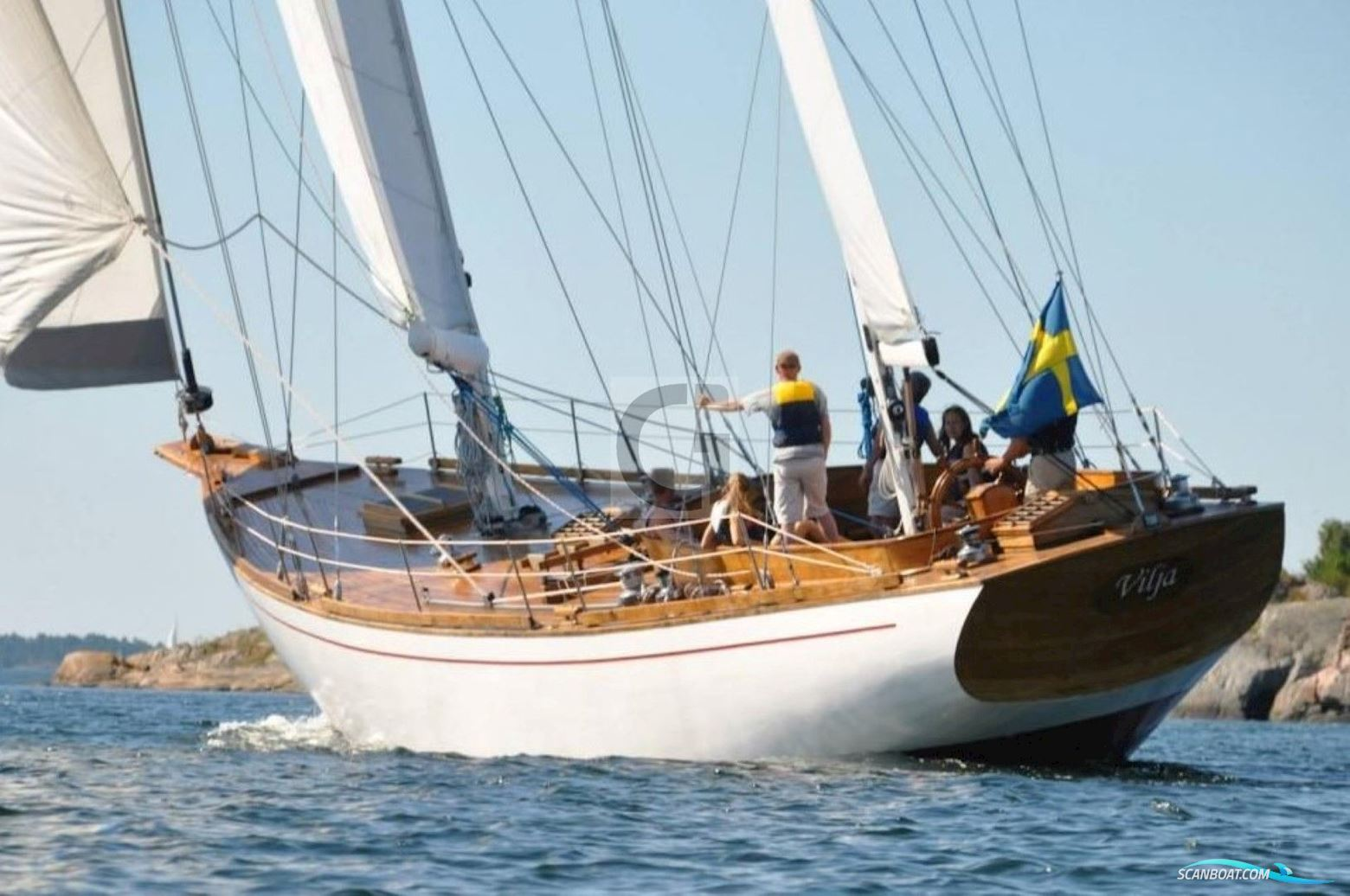 20m Traditional Swedish Wooden Ketch