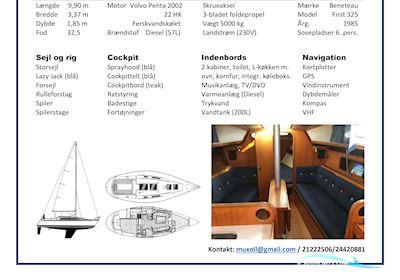 Sailing boat Beneteau First 325