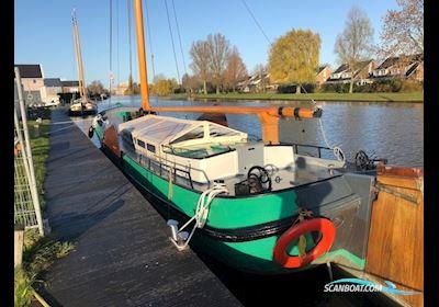Sailing boat Skutsje Zeilboot