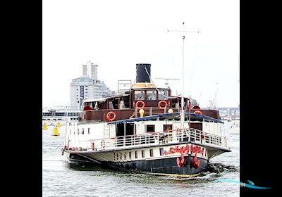 Radersalonboot Passagier/Hotel Schip