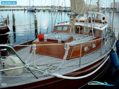 Sejlbåd Böbs-Seekreuzer in Mahagoni / Kambala Teak