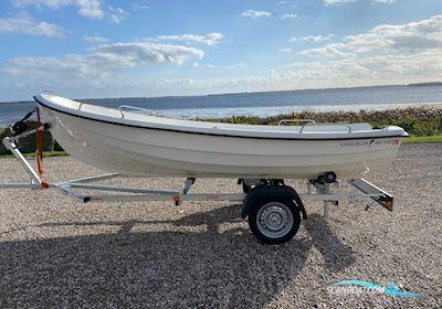 Småbåt Fjordjollen 430 Fisk Med Motor
